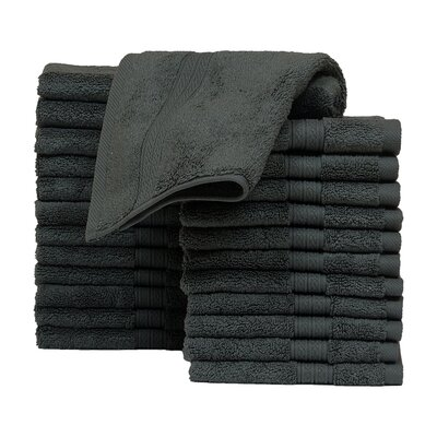 Kring Zero Twist Washcloth Color: Gray