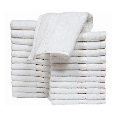 Kring Zero Twist Washcloth Color: White