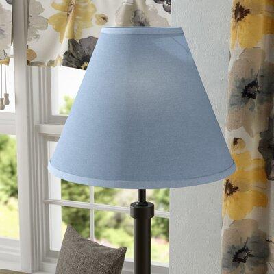 Hardback 21 Linen Empire Lamp Shade Color: Denim Blue
