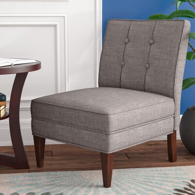 Royalwood Slipper Chair Upholstery: French Gray