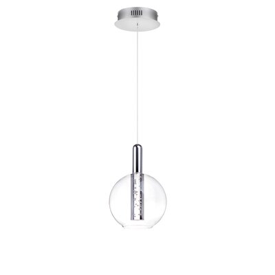 Sipos 1-Light LED Globe Pendant