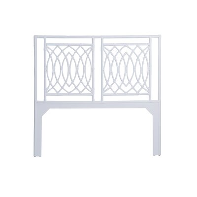 Koski Open-Frame Headboard Color: White, Size: Queen