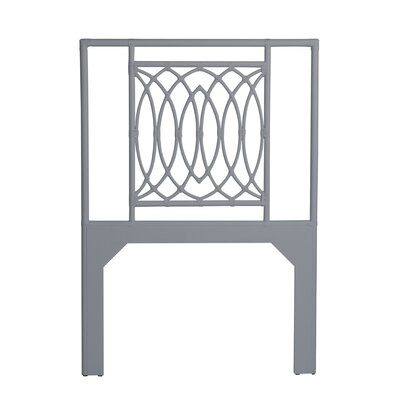Koski Open-Frame Headboard Color: Light Gray, Size: Twin