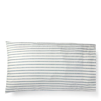 Hanah Stripe Pillow Case Size: Twin