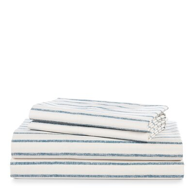 Hanah Stripe Sheet Set Size: Queen
