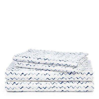 Nora Zig Zag Sheet Set Size: King