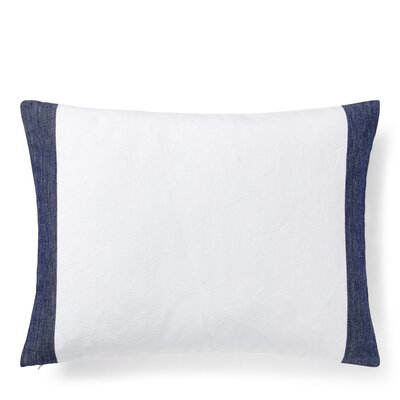 Nora Border Cotton Lumbar Pillow