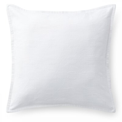 Gemma Crosshatch Cotton Throw Pillow