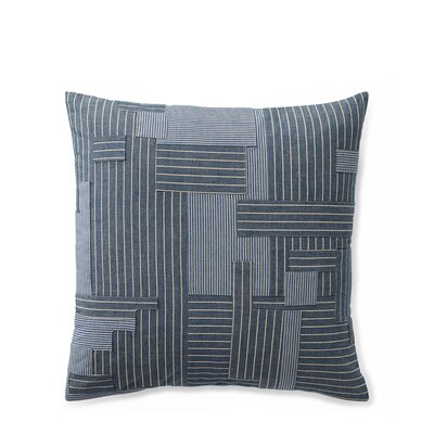 Hanah Pieced Cotton Throw Pillow