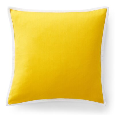 Isadora Solid Cotton Throw Pillow