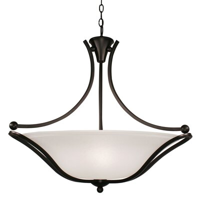 Escalera 3-Light Bowl Pendant