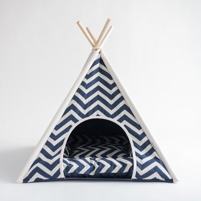 Pet Teepee Hooded Dog Bed