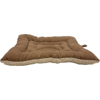 Sleep Zone Fashion Bed and Crate Caramel Mat Color: Caramel, Size: 22 W x 16 D x 5 H