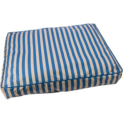 Cabana Sleep Zone Dog Pillow Color: Blue, Size: 23