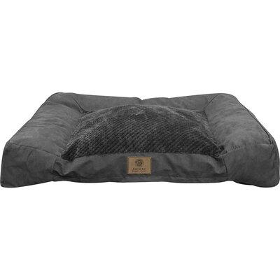 Memory Foam Dog Sofa Color: Dark Gray
