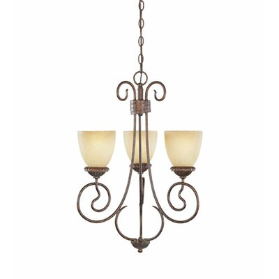 Candlewood 3-Light Candle-Style Chandelier