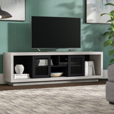 Cioffi Industrial 70.87 TV Stand Color: Black