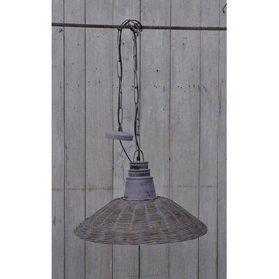 Doucet 1-Light Inverted Pendant