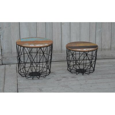 Crownfield 2 Piece End Table Set