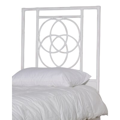 Eldert Open-Frame Headboard Color: Ice, Size: Twin