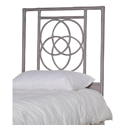 Eldert Open-Frame Headboard Color: Ash, Size: Twin