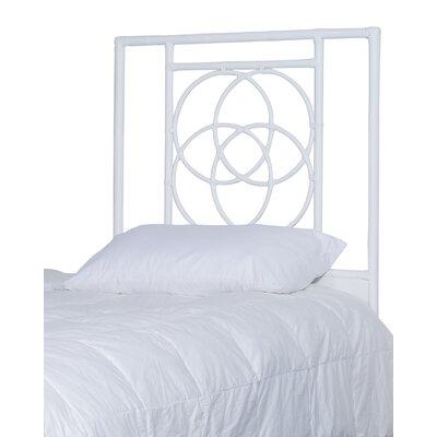 Eldert Open-Frame Headboard Color: White, Size: Twin