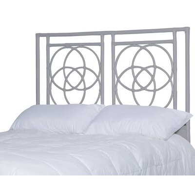 Eldert Open-Frame Headboard Color: Light Gray, Size: Queen