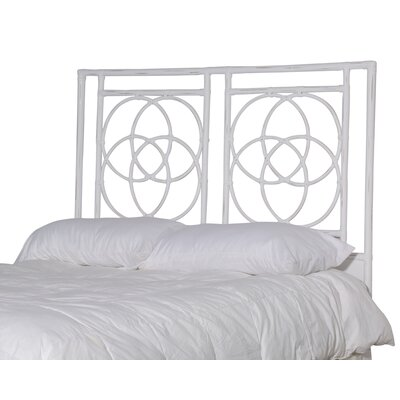 Eldert Open-Frame Headboard Color: Ice, Size: Queen