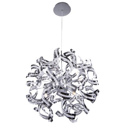 Montross 12-Light Geometric Pendant