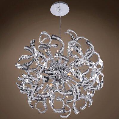 Montross 15-Light Geometric Pendant Bulb Type: LED