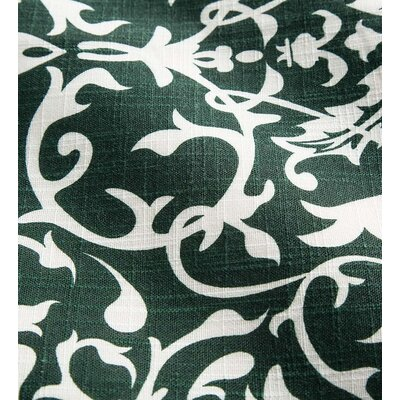 Shenandoah Tufted Outdoor Floor Pillow Color: Pine Filigree