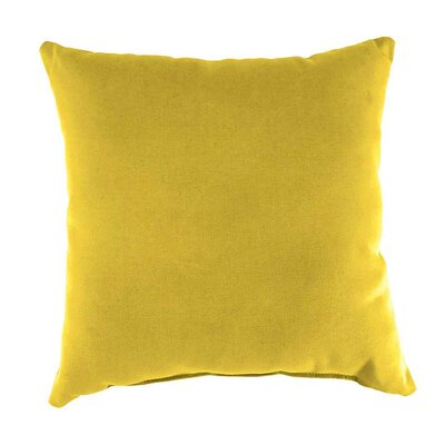 Shenandoah Outdoor Throw Pillow Color: Sunshine Yellow