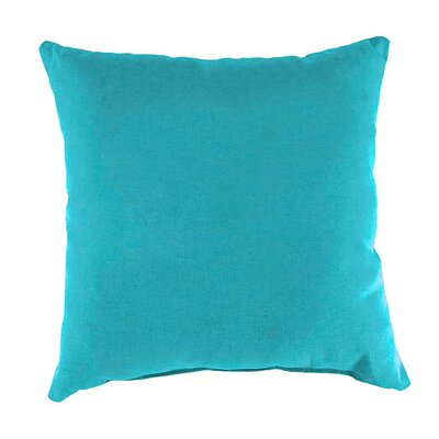 Shenandoah Outdoor Throw Pillow Color: Teal Shenandoah