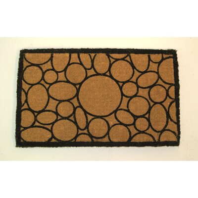 Taft Avenue Circles and Ovals Doormat Mat Size: Rectangle 2 x 33