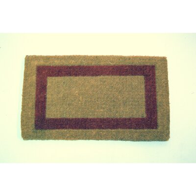Izzo Single Brick Doormat Mat Size: Rectangle 2 x 33