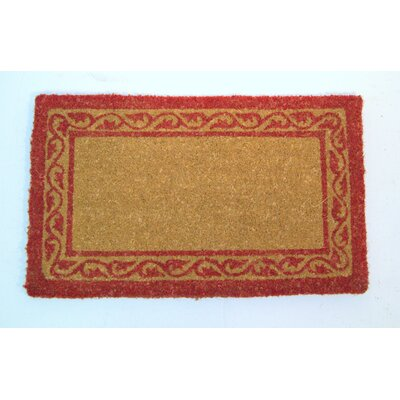Celeste Border Doormat Mat Size: Rectangle 16 x 26