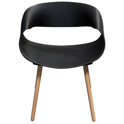 Chesser Dining Chair Color: Black