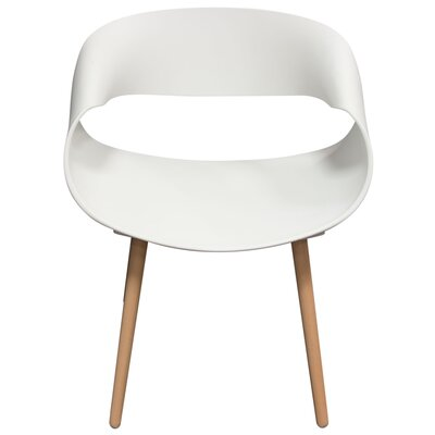 Chesser Dining Chair Color: White