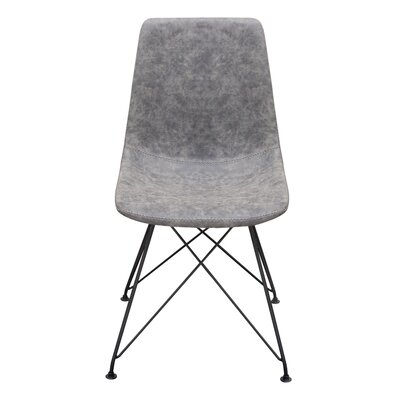 Maniscalco Dining Chair Color: Gray