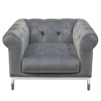 Lamb Chesterfield Chair