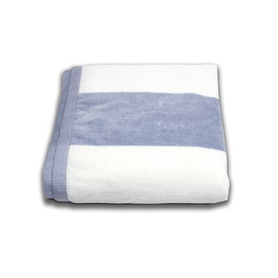 Tropical Cabana Beach Towel Color: Silver