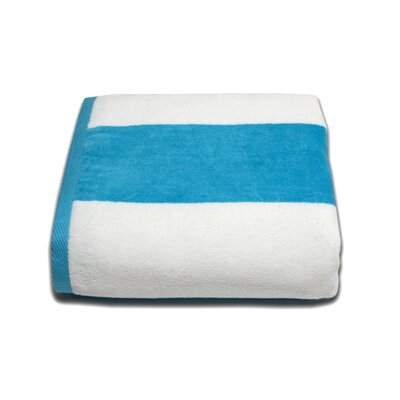 Tropical Cabana Beach Towel Color: Aqua