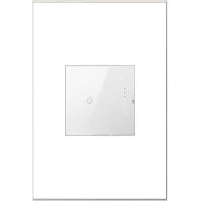 Touch Wall Mounted Dimmer Finish: White