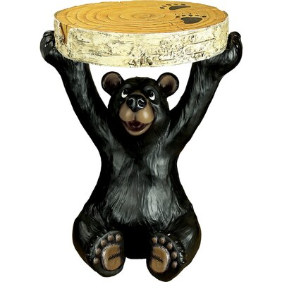 Steffes Bear End Table