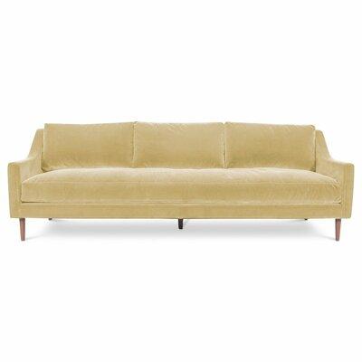 Naples Sofa Upholstery: Velvet - Hollandaise