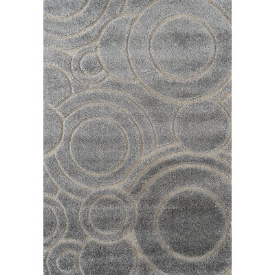 Dostie Gray Area Rug Rug Size: Rectangle 2 x 3