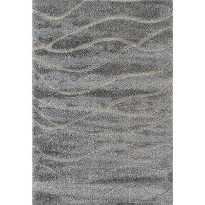 Dostie Gray Area Rug Rug Size: Rectangle 36 x 56