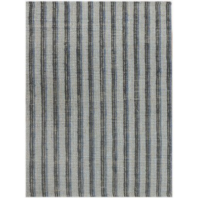 Koleby Striped Hand-Woven Blue Area Rug Rug Size: Runner 23 x 8