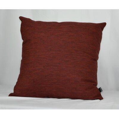 Maxon Aubergine Sunbrella Indoor/Outdoor Throw Pillow