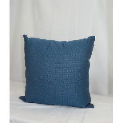 Cueto Grass is Greener Sunbrella Indoor/Outdoor Throw Pillow Pillow Cover Color: Blue Jasmine
